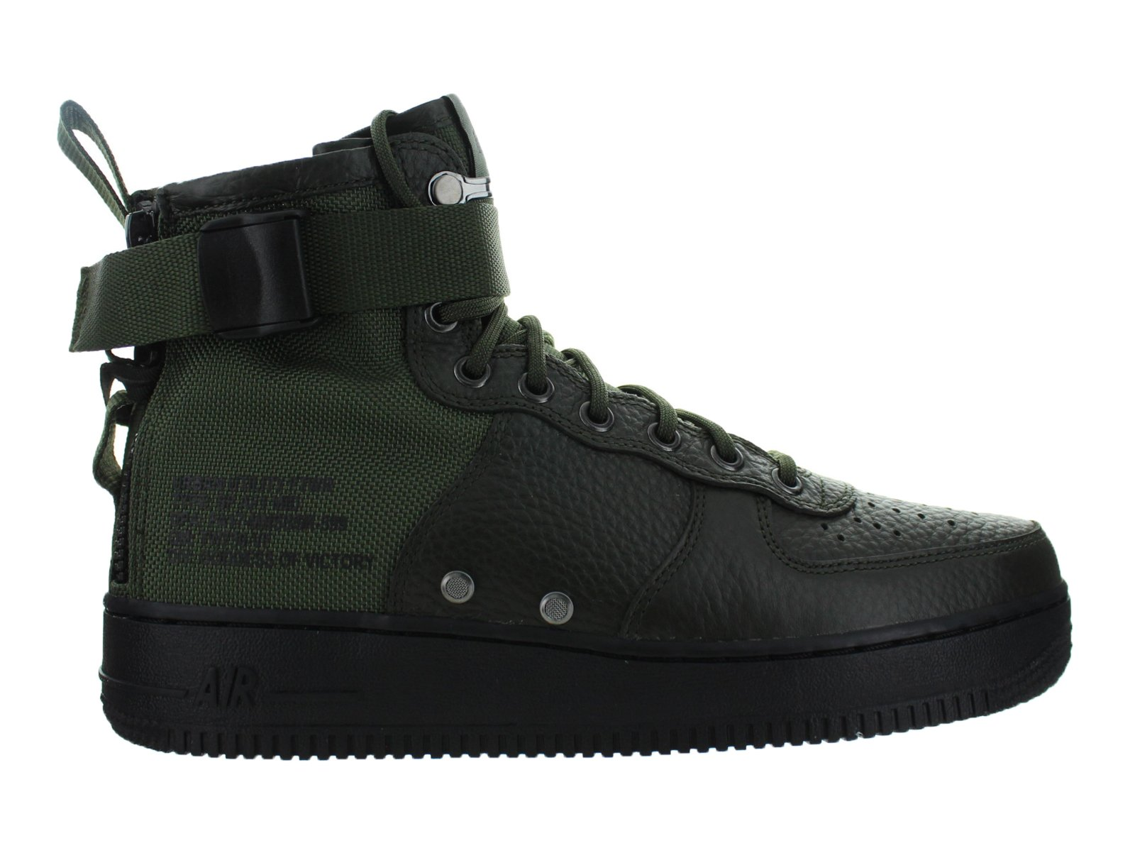 Mens Nike Special Field Air Force 1 Mid Sequoia Black 917753-300