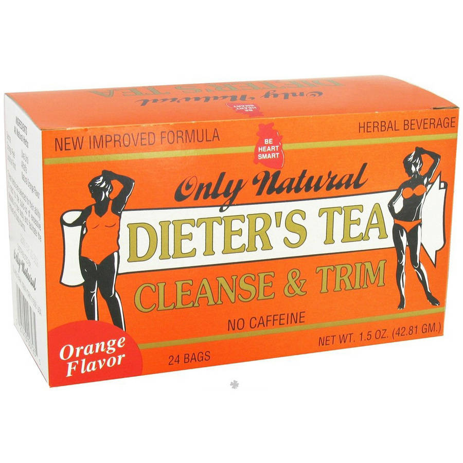Only Natural Dieters Cleansing Tea, Orange, 24 CT