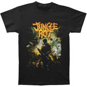 Jungle Rot Men's  Order Shall Prevail T-shirt Black