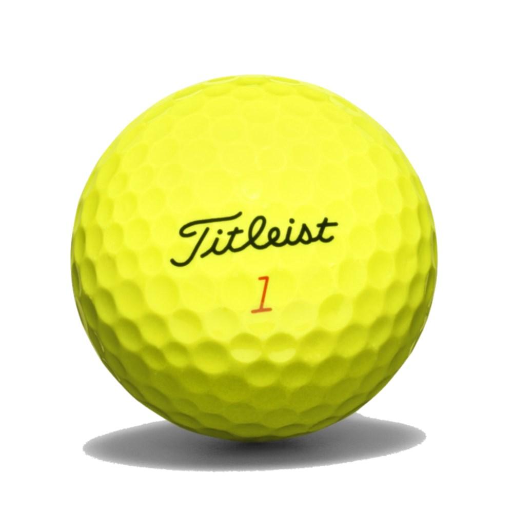 3 Dozen NEW Titleist DT Solo Golf Balls Bulk Prior Generation Optic Yellow