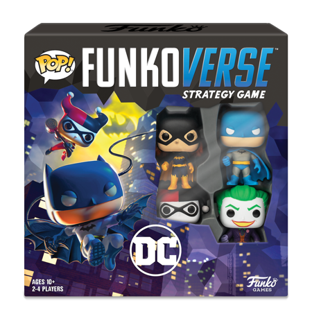 Funko Games POP! Funkoverse - DC Comics 100 - 4-Pack