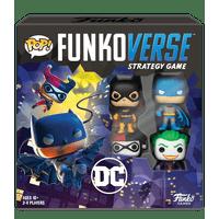 Funko Games POP! Funkoverse - DC Comics - 4 Character Base Set