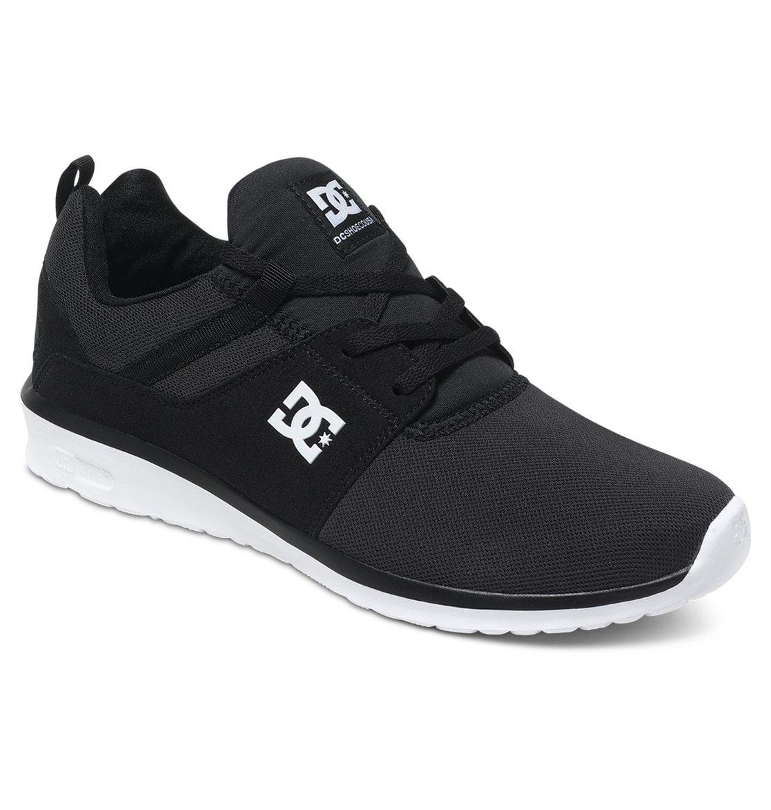 DC Mens Heathrow, Black/White, 9.4 Economical, stylish, and eye-catching shoes