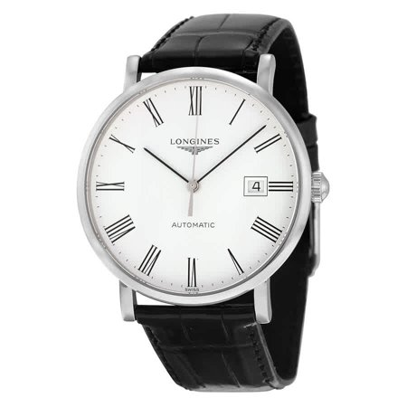 Se White Dial - Longines Elegant Automatic White Dial Men's Watch L49104112