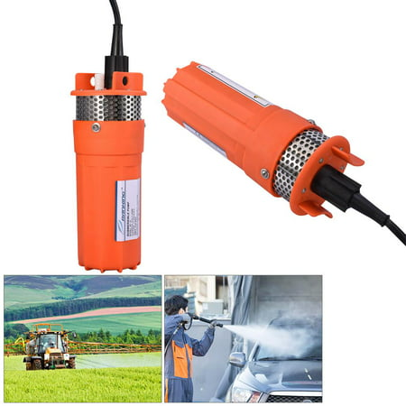 Submersible Water Well Pump,1/2Inch 12V Submersible Deep Well Water DC Pump Alternative Energy Solar Powered for Farm Ranch Outdoor Remote Water Use