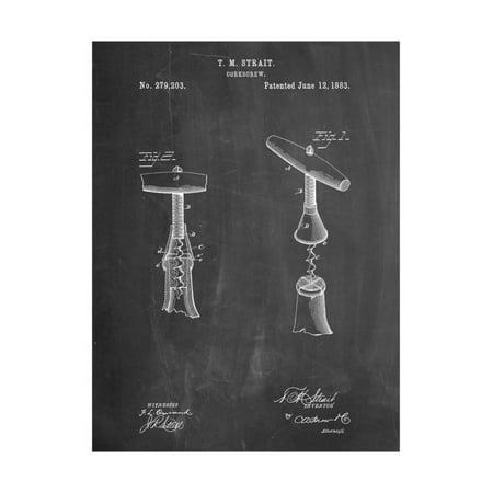 Corkscrew Prints (Corkscrew 1883 Patent Print Wall Art By Cole Borders)