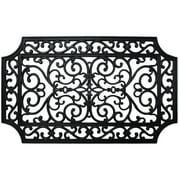 J&M French Quarter Rubber Indoor/Outdoor Doormat 18X30