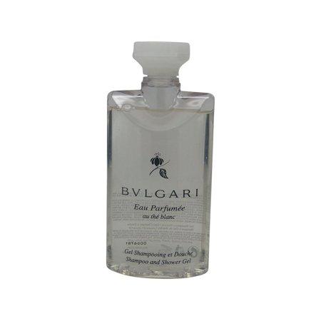 bvlgari au the blanc white tea shampoo and shower gel 2. Black Bedroom Furniture Sets. Home Design Ideas