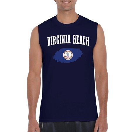 Virginia Beach Virginia Mens Sleeveless Shirts](Halloween Virginia Beach)