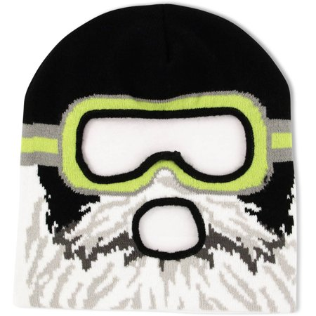 Image of ABG Accessories Big Boys Acrylic Knit Winter Mask Hat