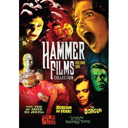 Hammer Film Collection Volume 1-5 (DVD)](Halloween Films Rated 15)