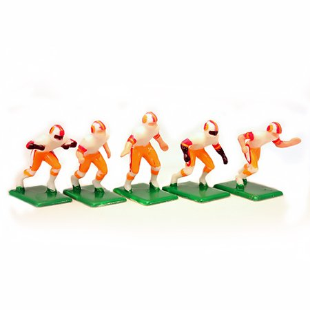 NFL Away Jersey-Tampa Bay Buccaneers Hand Painted 11 Electric Football Players - Football Player Toys