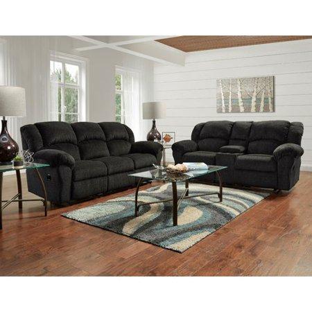 Roundhill Furniture Aruba Dual Reclining Sofa Walmart Com