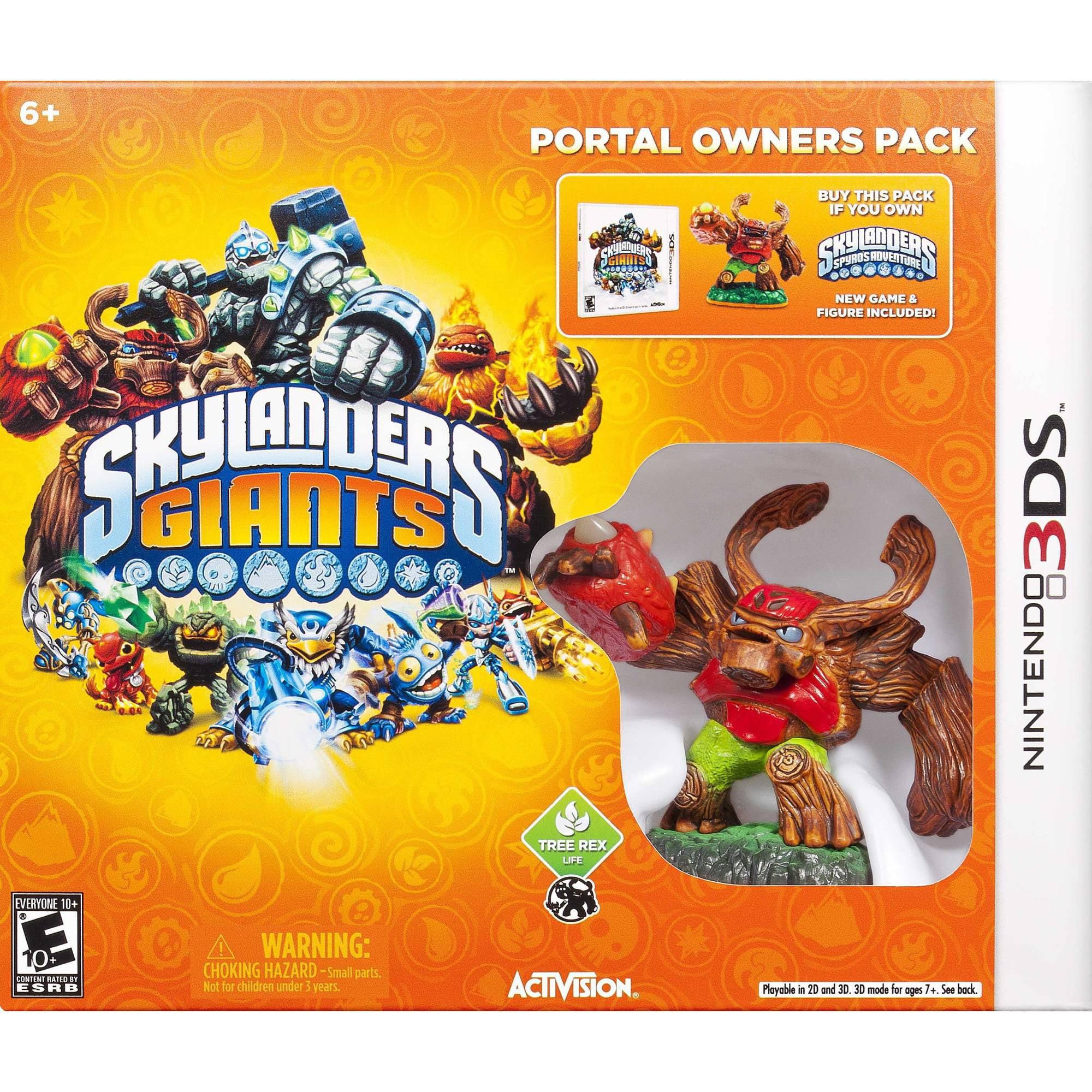 Skylanders Giants (Portal Owner Pack) (Nintendo 3DS) 047875844858