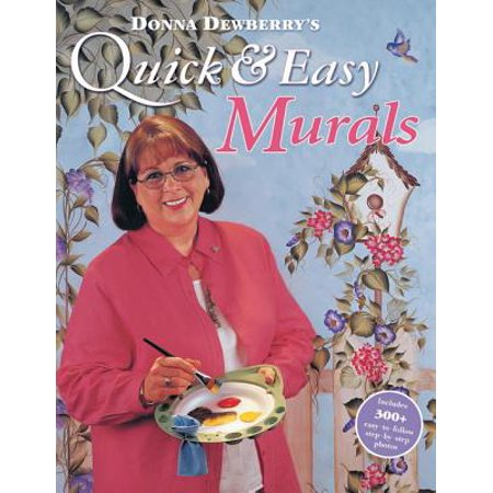 Donna Dewberry's Quick & Easy Murals - eBook - Quick And Easy Halloween Face Painting