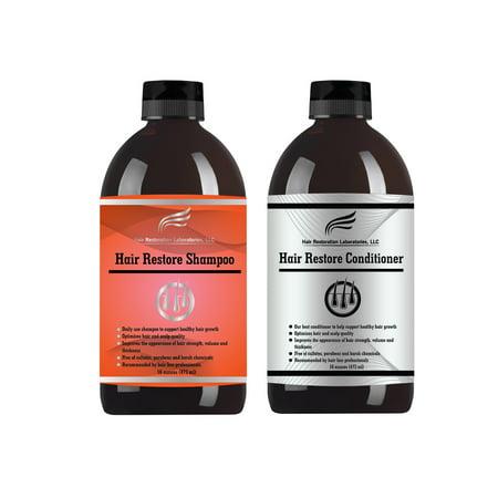 2019 Hair Restoration Laboratories DHT Blocking Hair Loss Conditioner & Shampoo