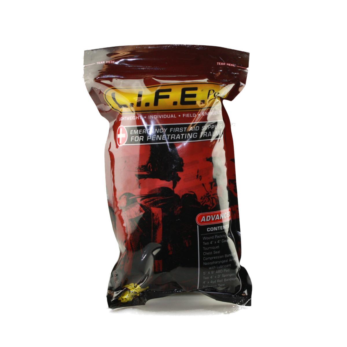Voodoo Tactical L.I.F.E. Advanced, Penetrating Trauma First Aid Supplies