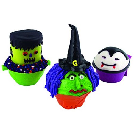 Fox Run Brands 6890 Lil Witch Silicone Bake Cups, Set of 4