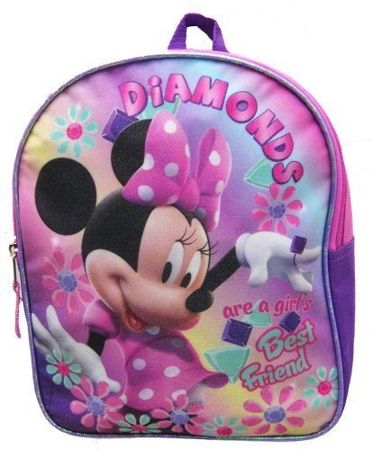 Disney Minnie Mouse Bowtique Toddler 11 Mini Backpack - Walmart.com