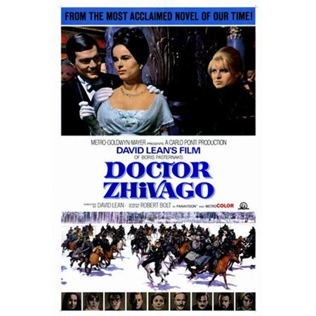 Doctor Zhivago Movie Poster - 11 x 17 in. - image 1 of 1