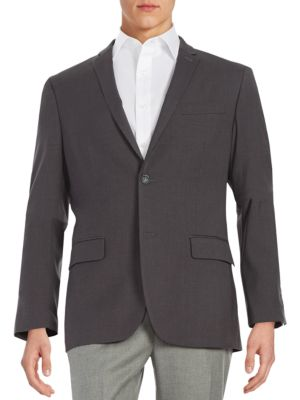 Slim-Fit Two-Button Jacket
