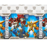 """Transformers Plastic Table Cover, 54"""" x 96"""""""