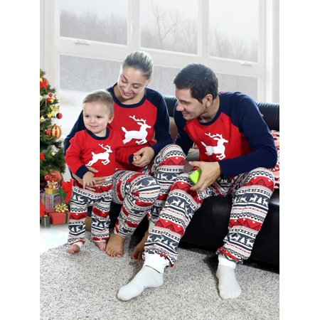 Babula - Babula Christmas Family Matching Pajamas Xmas Women Men Kids Sleepwear  Sets - Walmart.com 78964dc9c