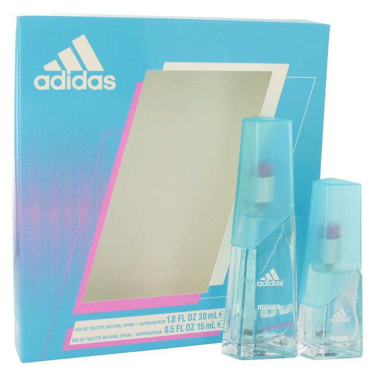 Adidas Moves by Adidas - Gift Set -- 1 oz Eau De Toilette Spray + .5 oz Eau