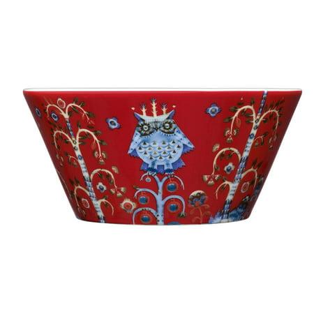 Taika Red Bowl 0.60L, Bowl By Iittala Iittala Origo Dessert Bowl