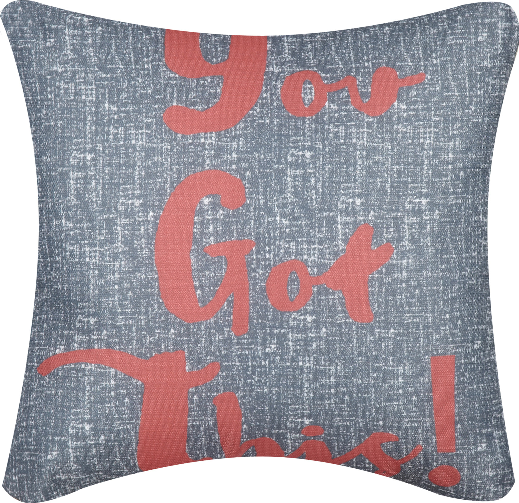 """Mainstay You Got This! Decorative Throw Pillow,16"""" x 16"""""""