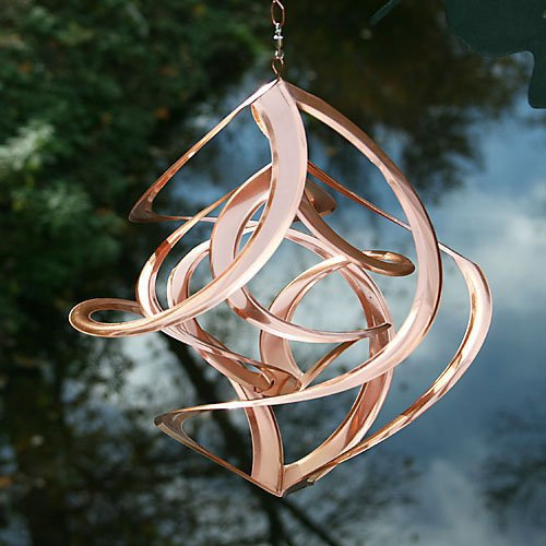 Cosmix Copper Double Wind Sculpture