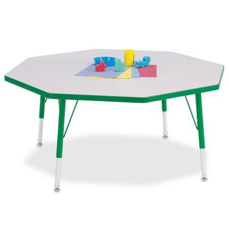 Jonti Craft Activity Table (Jonti-Craft Rainbow Accents Octagon Activity Table )