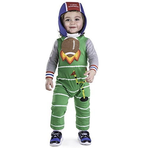 Dress Up America Football Baby Costume - Size 0-6 Months