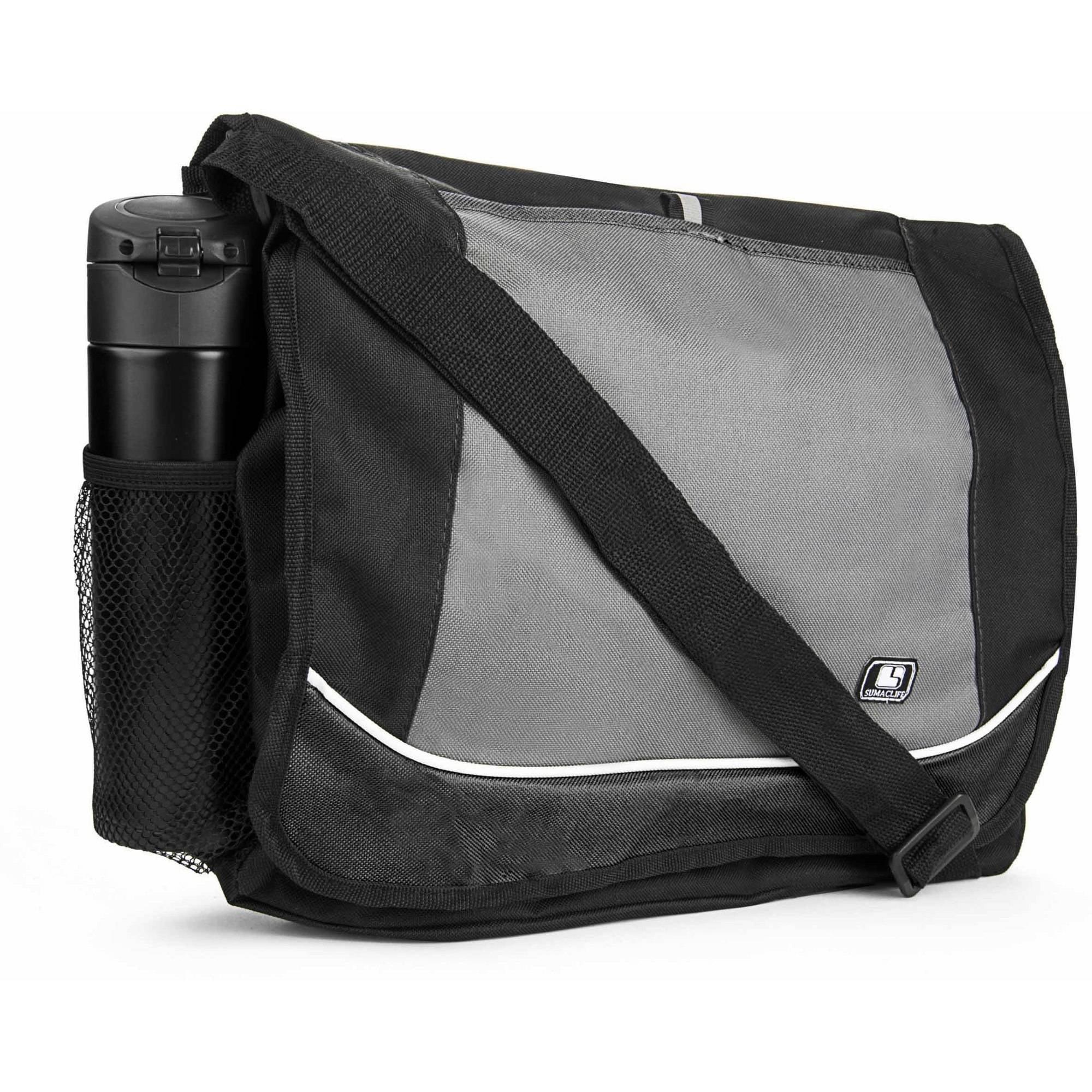 Universal Multi-Purpose Canvas Messenger Shoulder Bag for Laptops, Notebooks and Ultrabooks