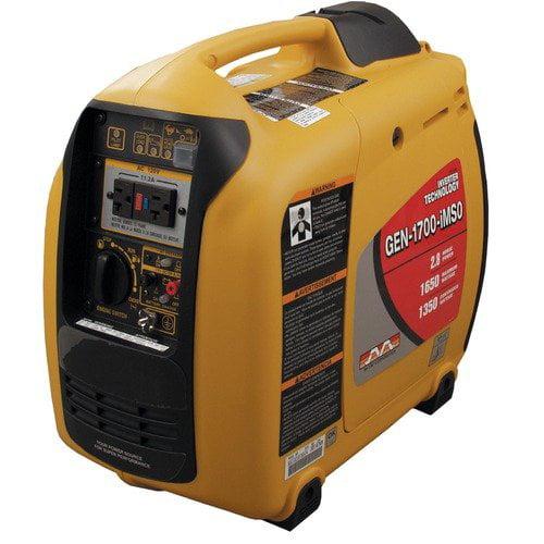 Mi-T-M 1650 Watt Portable Electric Inverter Generator