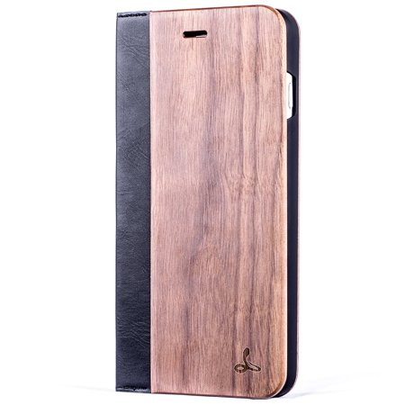 official photos 2ee4d 511b0 Snakehive Apple iPhone 7 Plus Wooden Wallet Case Cover for Apple ...