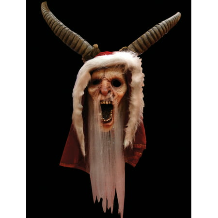 Trick or Treat Studios Krampus Movie Full Head Mask, Red, One-Size