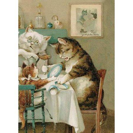 Cat Family Desk Notebook