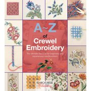 Search Press Books-A-Z Of Crewel Embroidery