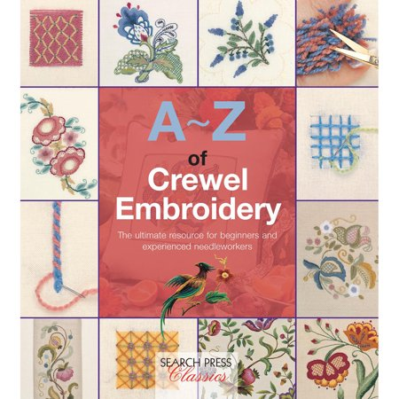 - Search Press Books-A-Z Of Crewel Embroidery