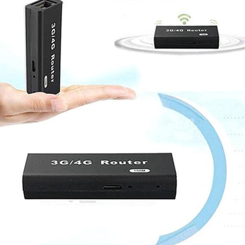 POLYHYMNIA Mini Portable 3G 4G WiFi Wlan Hotspot AP Client 150Mbps RJ45 USB Wireless Router by POLYHYMNIA