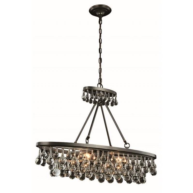 Elegant Lighting Bettina 10 Quot 4 Light Royal Crystal Chandelier