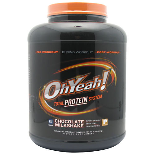 ISS Oh Yeah Total Protein System, Chocolate Milkshake, 64 Oz