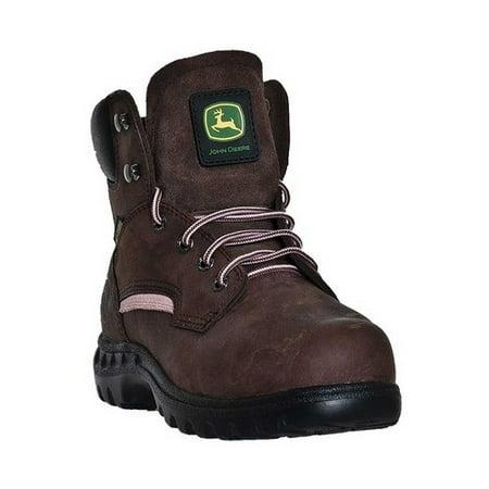 John Deere Boots Poron XRD Metatarsal Guard Steel Toe 3672 (Women's) 5fg9leBHTU
