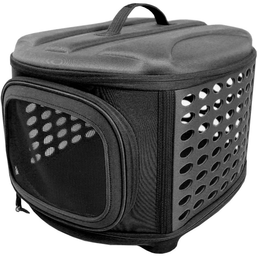 Iconic Pet Deluxe Retreat Foldable Pet House, Black