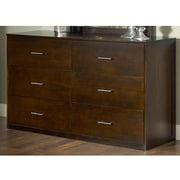 Modus Furniture International Modera 6-Drawer Dresser, Chocolate Brown