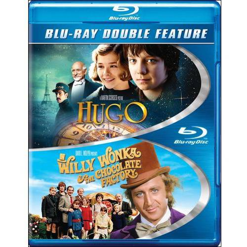 Hugo / Willy Wonka & The Chocolate Factory (Blu-ray)