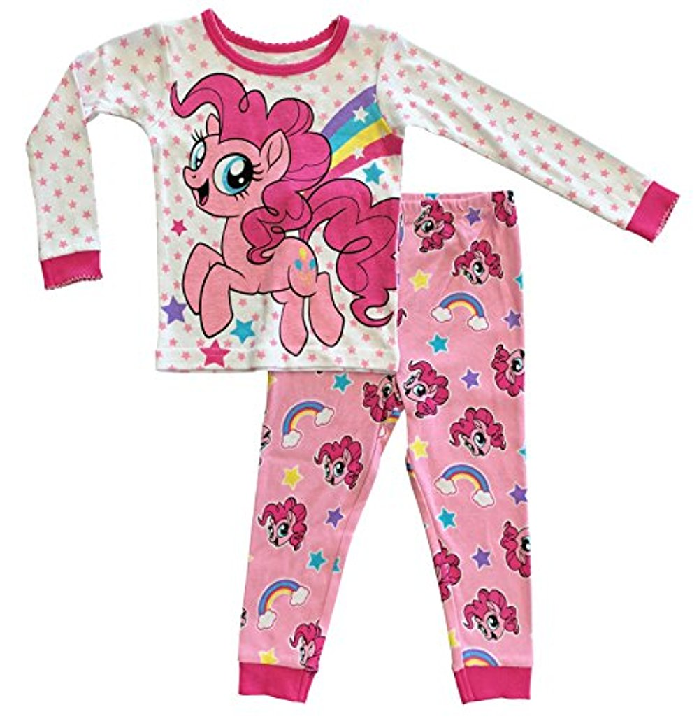 My Little Pony The Movie Toddler Girls Cotton Tight Fit Pajamas (3T)