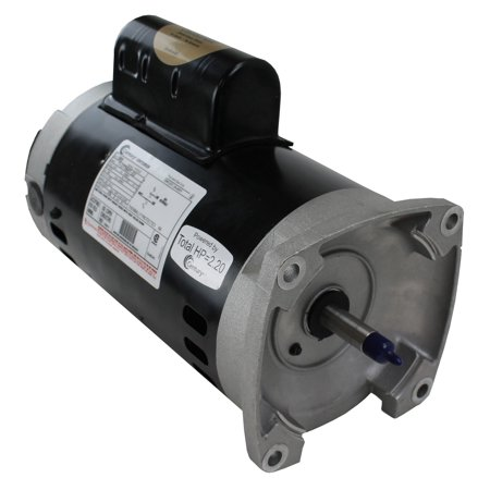 A.O. Smith Century B855 Square Flange 2HP 230V 3450RPM Frame Up-Rate Pool Motor (Emerson Pool Motors)