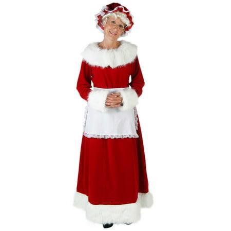 Deluxe Mrs Claus Costume - Mrs Piggy Costume